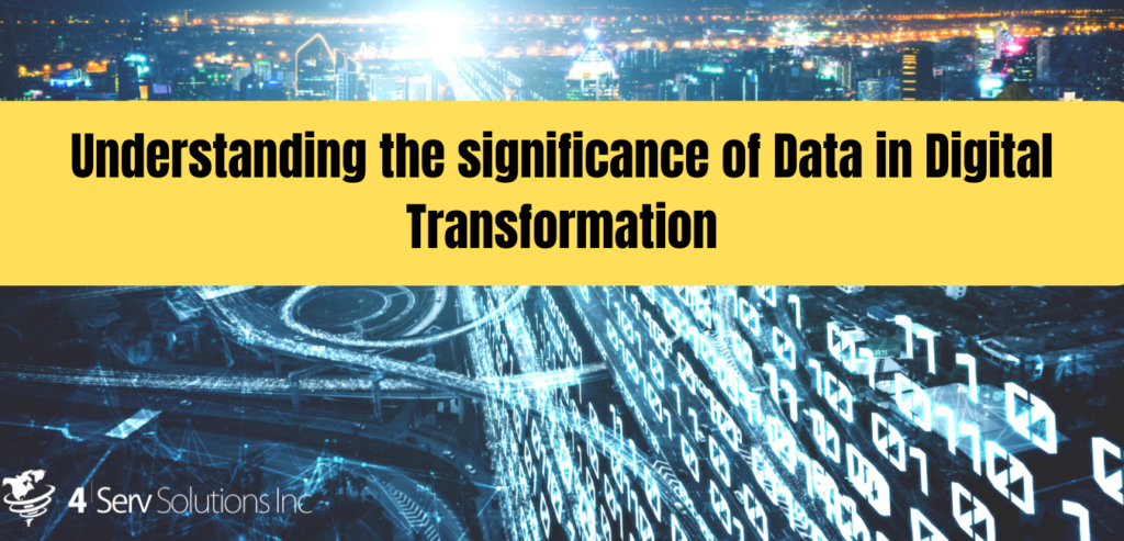 How Data is important in digital transformation
